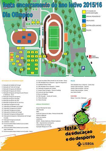 Festa da Educação e do Desporto - Dia Olímpico