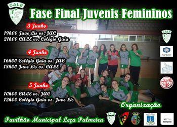 Cartaz Fase Final do Campeonato Nacional de Juvenis Femininos 2015/2016