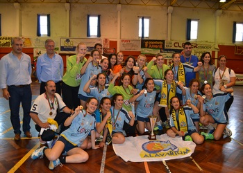 Alavarium - Campeão Nacional Juvenis Femininas - 2014-15