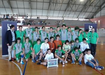 CA Leça - campeão nacional inic. (M) - 2.ª divisão - 2011-12