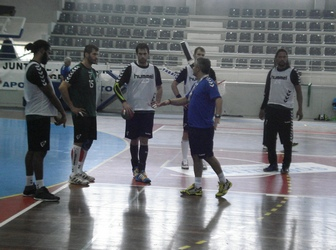 Seleção Sénior Masc. - Treino em Grijó 3 - 25.10.2014