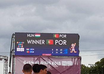 Hungria : Portugal - Sub-18 Masculinos - Jogos Olímpicos Juventude Buenos Aires 2018