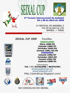 2º Torneio Internacional de Andebol Seixal Cup 2009