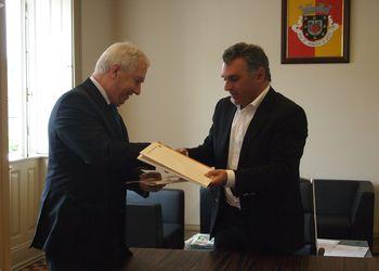 Assinatura de Protocolo entre a Federação e a Câmara Municipal de Mondim de Basto