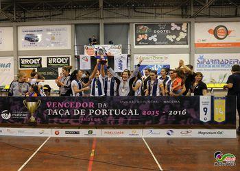 CS Madeira vencedor da Taça de Portugal Multicare Seniores Femininos 2015/ 2016