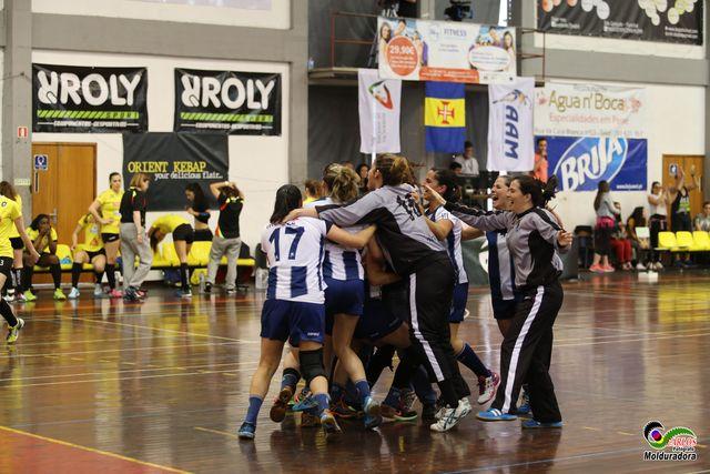 CS Madeira : Colégio de Gaia/ Toyota - final Taça de Portugal Multicare Seniores Femininos 2015/2016 - festa do CS Madeira