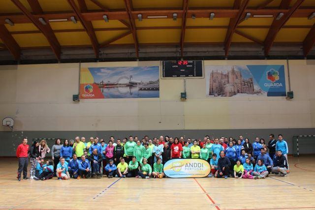 1ª Jornada do Campeonato Regional do Centro de Andebol-5 da ANDDI