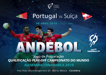 Cartaz - jogos de preparação - Portugal : Suíça - Coimbra