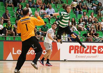 Fábio Chiuffa - Sporting CP : ABC UMinho - Campeonato Andebol 1 - Foto: PhotoReport.in