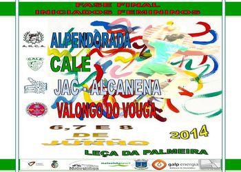 Cartaz Fase Final Campeonato Nacional Iniciadas Femininas 2013-14