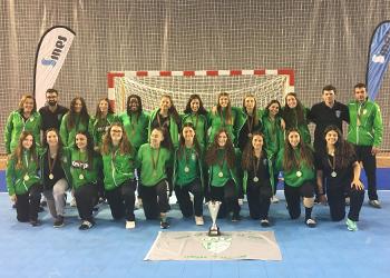 Campeonato Nacional de Juvenis Femininos - CALE Campeão - 2017-2018