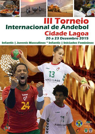 Cartaz III Torneio Internacional Cidade de Lagoa