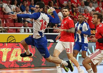 Rui Silva - SL Benfica : FC Porto - Campeonato Andebol 1 - Foto: PhotoReport.In