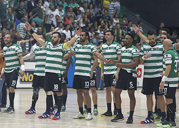 Sporting CP - SC Horta - Campeonato Andebol 1 - Foto: PhotoReport.In