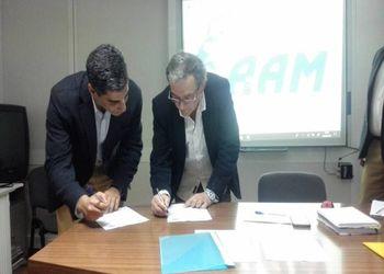 Assinatura de procotolo AA Madeira - Clube Desportivo São Roque