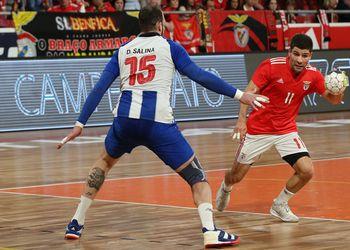 SL Benfica : FC Porto - Campeonato Andebol 1 - foto: PhotoReport.In
