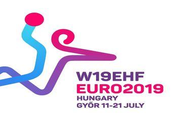 Logo Campeonato da Europa Sub-19 Femininos Hungria 2019