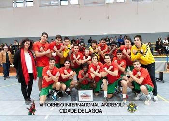 Seleção Nacional Sub17 Masculinos - Juniores C 2018-2019 - vencedores do VI Torneio Cidade de Lagoa - foto: Mário Moreira