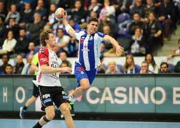 Diogo Branquinho - FC Porto Sofarma : TTH Holstebro - EHF Cup - foto: PhotoReport.In