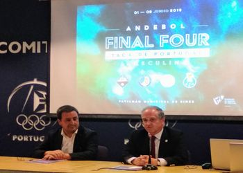 Sorteio Final 4 Taça de Portugal Seniores Masculinos - Auditório COP