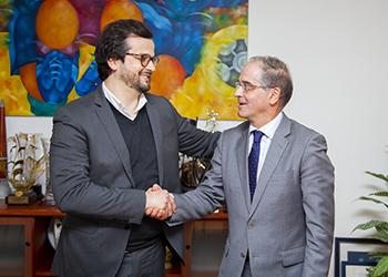 Assinatura de Protocolo - Federação de Andebol de Portugal e Melsports (1)