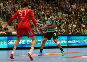 Frankis Carol - Sporting CP : Telekom Veszprém HC - Velux EHF Champions League