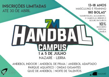 Cartaz 7Metros Handball Campus