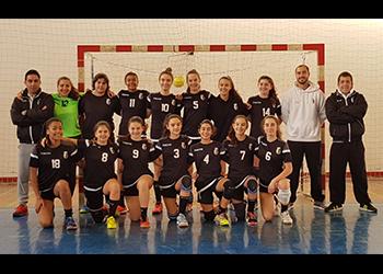 Seleção Algarve - Torneio Seleções Regionais Femininas - Alcobaça - 16/12/2018