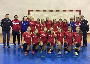 Seleção Leiria - Torneio Seleções Regionais Femininas - Alcobaça - 16/12/2018