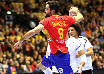 Espanha : Egipto - Campeonato do Mundo Seniores Masculinos 2019 - Foto: IHF