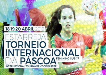 Cartaz Torneio Internacional da Páscoa