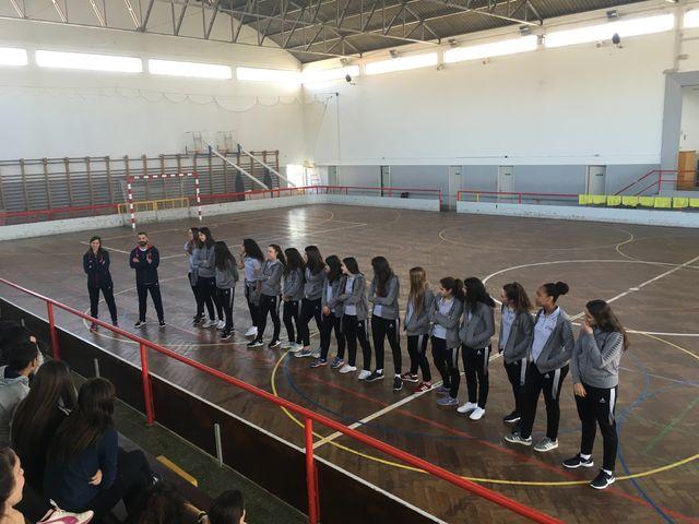 Seleção Nacional Sub-19 Feminina - ação de promoção da modalidade em Rio Maior