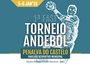 Portal - Cartaz Torneio Andebol - Penalva Castelo 2019 NE