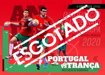 Portugal : França - lotação esgotada