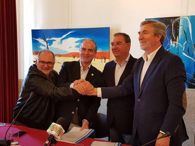 Assinatura de protocolo de parceria - Supertaças e Gala 2019 - Lamego