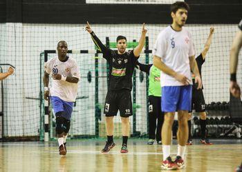 Águas Santas Milaneza : CF Belenenses - Campeonato Andebol 1 - foto: PhotoReport.In