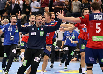Germany : Norway - Campeonato do Mundo Seniores Masculinos 2019 - Foto: IHF