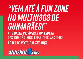 Cartaz Fun Zone - Multiusos de Guimarães