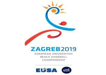 Logo EUSA – EHF Beach Handball University Championship 2019