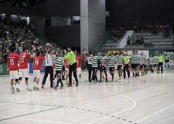 Sporting CP - SL Benfica - Campeonato Andebol 1 - foto: PhotoReport.In