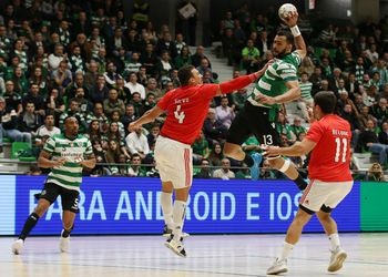 Sporting CP - SL Benfica - Campeonato Andebol 1 - Fase Final - foto: PhotoReport.In