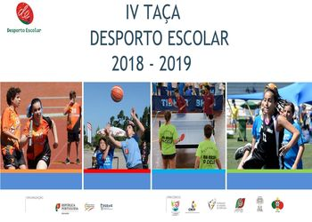 Cartaz IV Taça Desporto Escolar 2018 - 2019