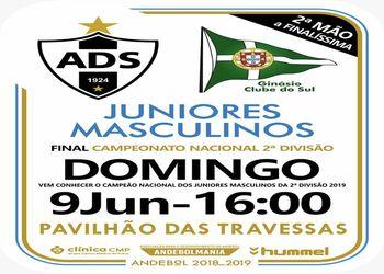 Campeonato Nacional Juniores Masculinos 2ª Divisão - Final - 2ª mão