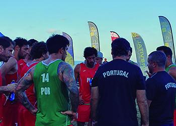 Seleção A Masculina de Andebol de Praia - Torneio Canárias Cup