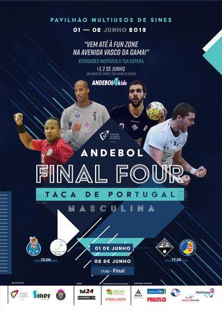 Cartaz Fun Zone - Final 4 da Taça de Portugal - Sines, 1 e 2 de Junho de 2019