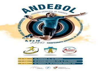 Cartaz - Fase de Apuramento do Campeonato Nacional Juvenis Masculinos 2ª Divisão - Tarouca, 08 a 10.06.19