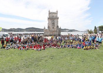Andebol e Cultura - Torre de Belém, Lisboa - foto: PhotoReport.In