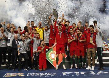 Seleção Nacional de Futebol - vencedor Liga das Nações