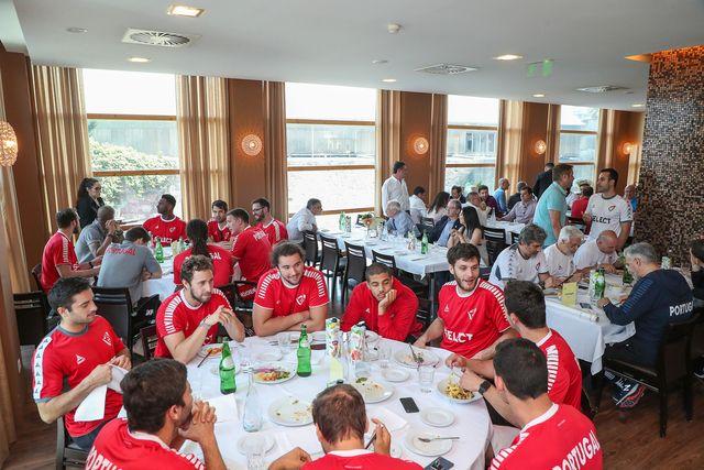 Almoço Seleção Nacional e ex jogadores