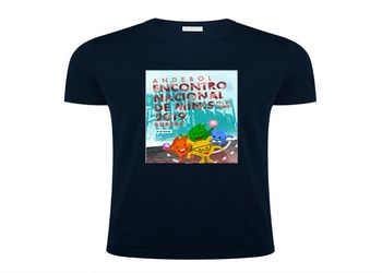 T-shirt Oficial - Encontro Nacional de Minis Guarda 2019